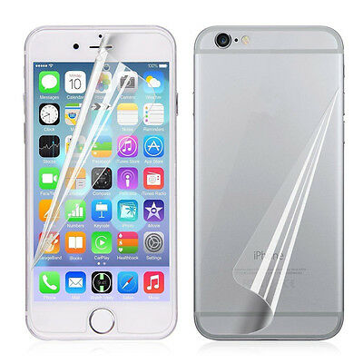 Front+Back Protective Screen Protector Film Foil for iPhone 5 6S Plus 7 7PLUS SE