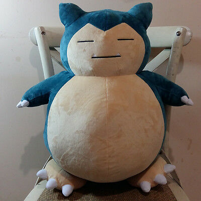 "20"" 50cm New JUMBO SNORLAX Pokemon Center Nintendo Plush Toy Game Doll Gift"