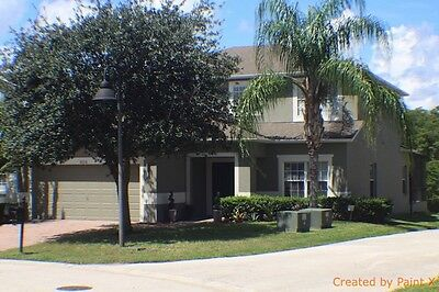 5 Bedroom Villa in Orlando, Southwest facing pool, close to Disney