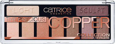 CATRICE The Precious Copper Collection Eyeshadow Palette (010 Metallux) OVP