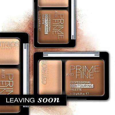 CATRICE Prime And Fine Professional Contouring Palette (030 Sunny Sympathy) OVP