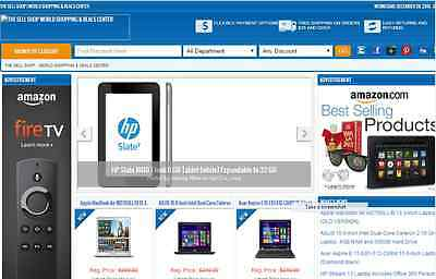 Fully Developed Turnkey Amazon Affiliate  Store Website  Free Installation