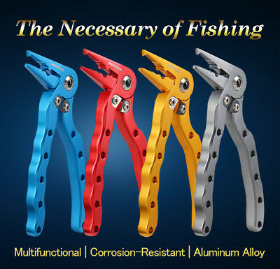 New for 2017! KastKing Falcon Angled Head Aluminum Fishing Pliers - Hook Remover