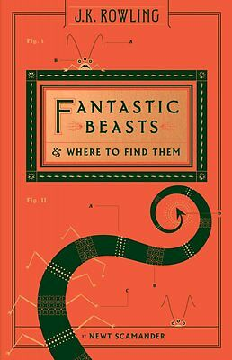 Fantastic Beasts and Where to Find Them (Hogwarts Library Book) (Hardcover)