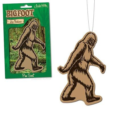 Bigfoot Deluxe Car Air Freshener By Archie McPhee - Pine Scent