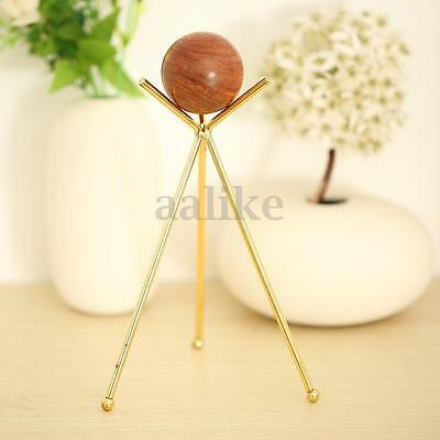 Metal Triangle Crystal Ball Display Stand Holder For  Sphere or Globe  60-100mm