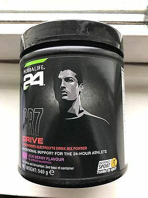 Herbalife 24 CR7 Drive Carbohydrates-Electrolyte Drink Mix ACAI BERRY