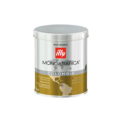 ILLY MONOARABICA COLOMBIA gemahlen 125g pro Dose