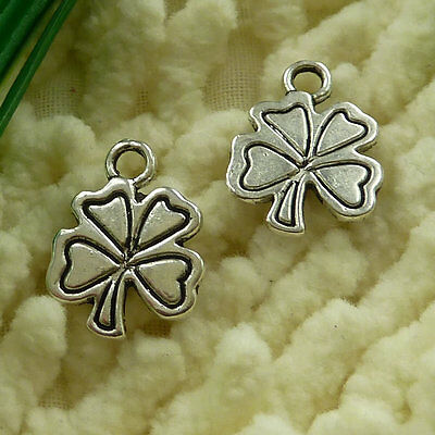 free ship 70 pieces tibetan silver bunge bedstraw herb charms 17x13mm #2941