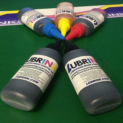 5 Printer Refill Lubr INK Bottle Epson Expression XP 510 520 600 605 610 615 620