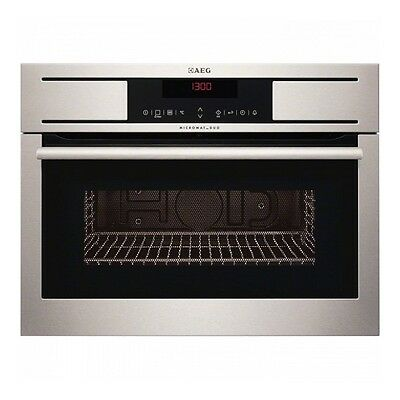 AEG KM8403001M Built-in Stainless Steel Electric Combi Microwave
