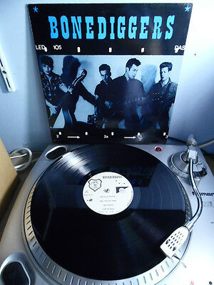 Rare The Bonediggers Dedicated To Those Who've Died Trying LP German Press EX EX