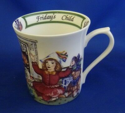A Queen's 'birthday Week' Mug - Friday's Child (Boxed)