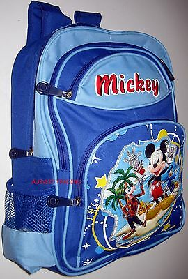 BNWT LARGE Mickey Mouse Bag boys preschool Backpack