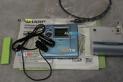 Sharp Md Mt877 Minidisc Player  Md With Microphone