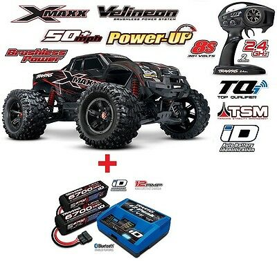Traxxas X-Maxx 8S Brushless 1/5 4WD 2.4GHz TQi Wireless + POWER PACK2 TRX77086-4