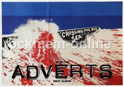 Adverts The Crossing The Red Sea First Album Reproduction Poster