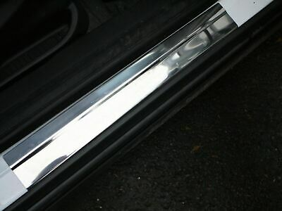 Chrome Door Sill Cover Guard Protector 4pc Set Ford Transit Connect (2013 on)