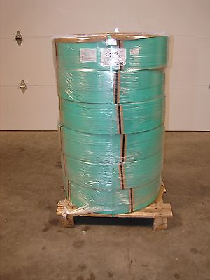 "Signode 2225 High-Strength Tenax Polyester Strapping 3/4"" 7000' (QTY- 6 coils)"