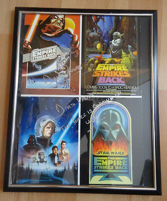 Star Wars Darth Vader Dave Prowse Joda Empire Strikes Back Postkarten Bild RAR