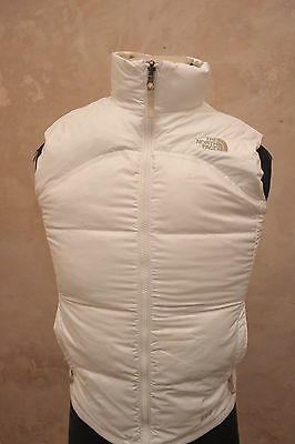 North Face Girls Large (Womens Xs - S) 600 Goose Down Gilet Waistcoat White Ge95