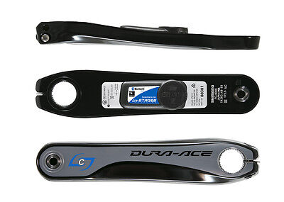 Stages Power Meter New Generation 2 - Dura Ace 9000  Size: 175mm