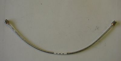 KMW DC-18GHz SMA Male to SMA Male Semi-Rigid Cable SMS-BJ141-12.0-SMA,12 Inches