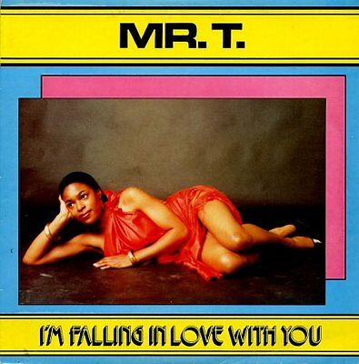 Mr. T I'm Falling In Love With You Reggae LP