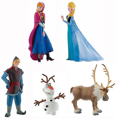 Bullyland Disney Pixar Frozen Figures Cake Toppers 5 Figurines To Choose From