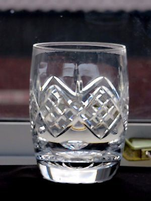 Stuart Cut Glass Crystal Barrel Tumbler,glengerry Pattern