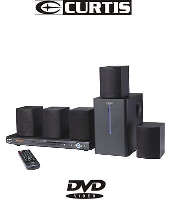*** Brand New Curtis 300W Subwoofer 5.1 Ch Dvd Home Theatre System ***