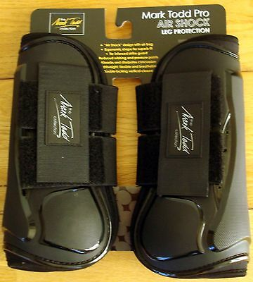 Brand New Mark Todd Air Shock Tendon Boots, Large Black