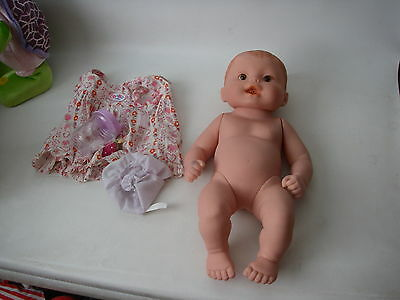 Baby Born Doll Zapf. hazle eyes vinyl body is a hot water bottle RARE NOW30% OFF