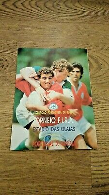 Portugal v Tunisia 1994  Rugby Union Programme