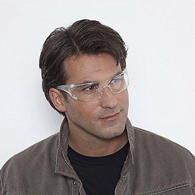 12 X Safety Glasses Work Spectacles Over Specs Eye Protection Workshop Safety
