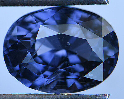 3.3 Cts Certified Natural Unheated Oval Cut Ceylon Blue Spinel Gemstone