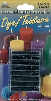 Concentrated Candle Dye 3/4 Ounce Blocks-Lavender 052124100135