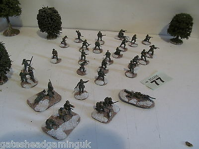 33x US American Army on Winter Bases WW2 Wargames Miniatures Painted 1:72 20mm