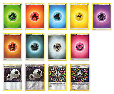 Sun & Moon Special Energy Pokemon inc Reverse Holo - pick 1 card or set of 4 NEW