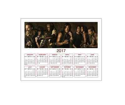 Walking Dead 2017 Calendar Fridge Magnet