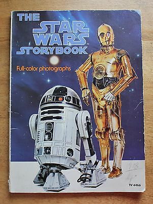 """The Star Wars Storybook"""" Full-Color Photographs - 1978"""