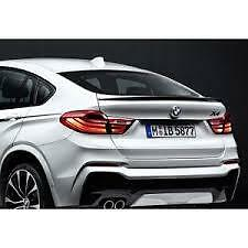 Genuine Bmw X4 M Performance Carbon Boot Spoiler