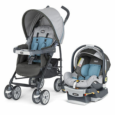 Chicco Neuvo Travel System with KeyFit30 Car Seat - Vapor