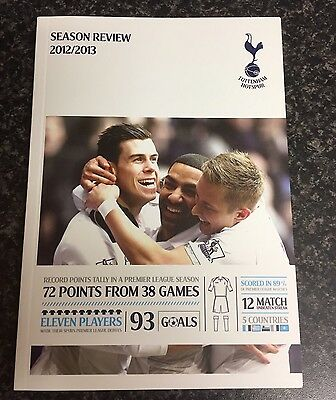 Tottenham Hotspur Season Review Book 2012/2013
