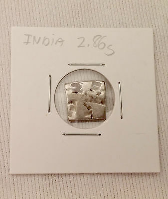 Silver coin - Ancient India - Date unverified 2.86 Grams