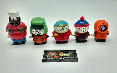 South Park Wind Up Toys Set of 5 Kyle Kenny Stan Cartman & Chef Comdey Central