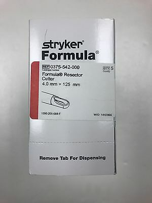 Stryker Formula Resector Cutter 375-542-000 (Exp 2021)