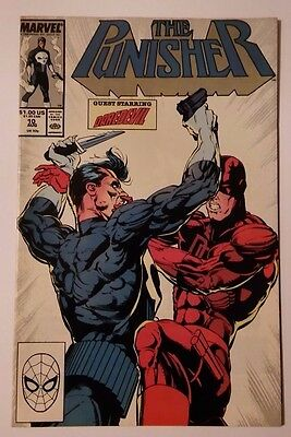 The Punisher #10 - Daredevil Appearance - Marvel Comics Usa