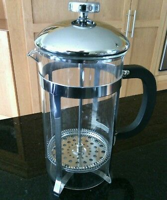 Primula Coffee Press 8 Cups French Glass Jug Roasted Fresh Filter Maker Hot Cup