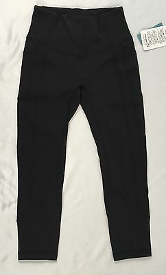 Lululemon Women Athletic Leggings All The Right Places Crop II Black LUXTREME 6